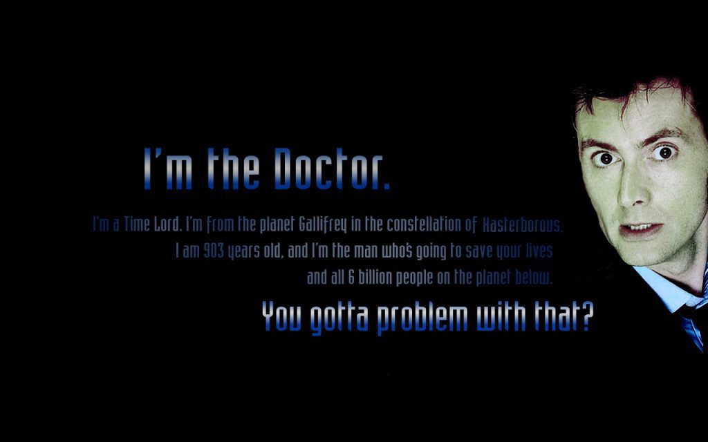 I'm The Doctor - Wallpaper Background