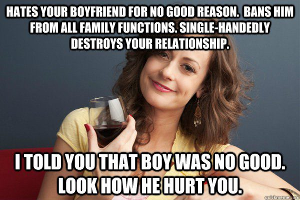 I Told You He Was No Good - Relationship Meme