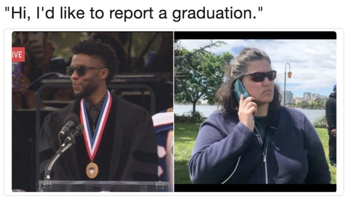 BBQ Becky Meme - like to report a graduation