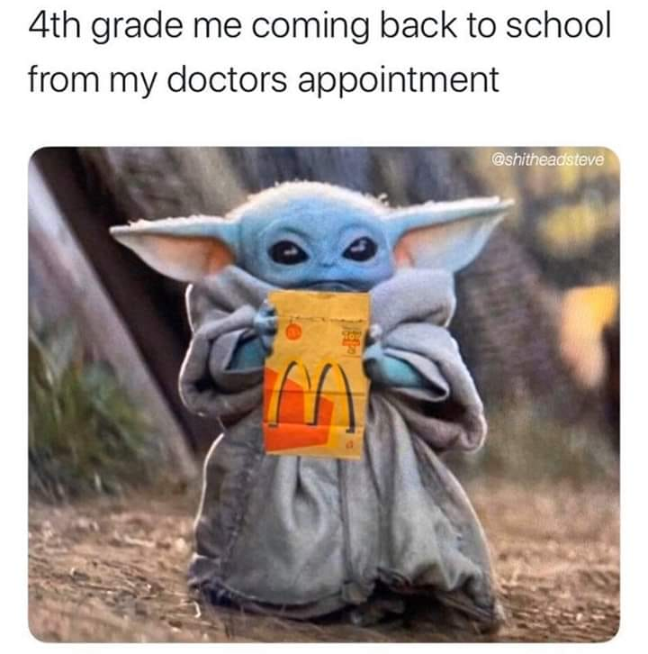 4th Grade Me Going Back To School After A Doctors Appointment