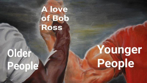 A Love Of Bob Ross