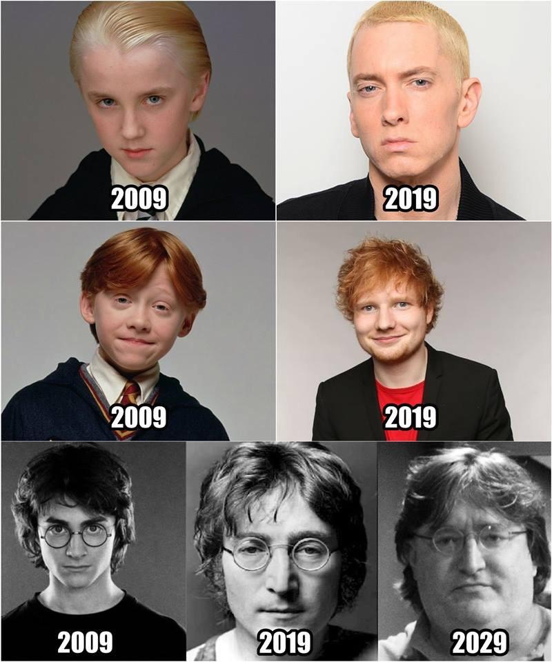 Awesome 10 Year Challenge Meme 1