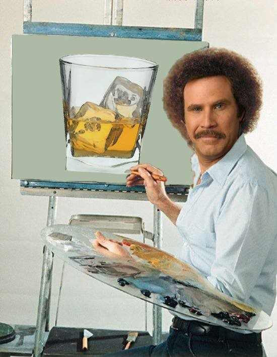 Bob Ross Anchorman