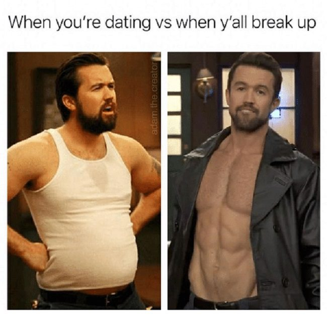 Dating Vs. Break Up