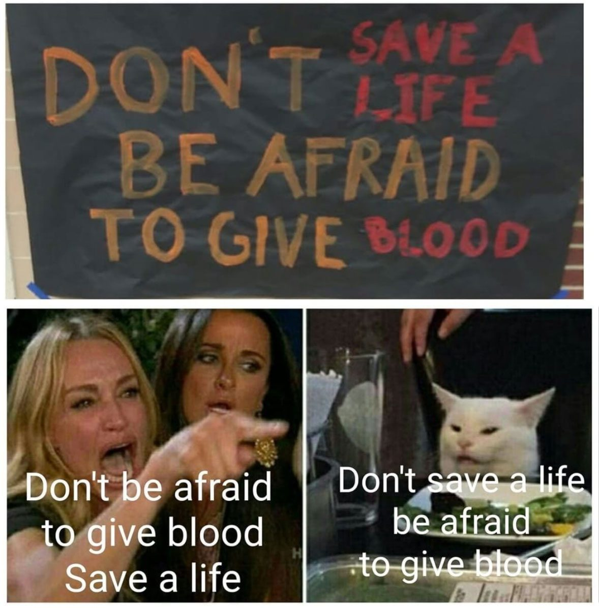 Dont Be Afraid To Give Blood
