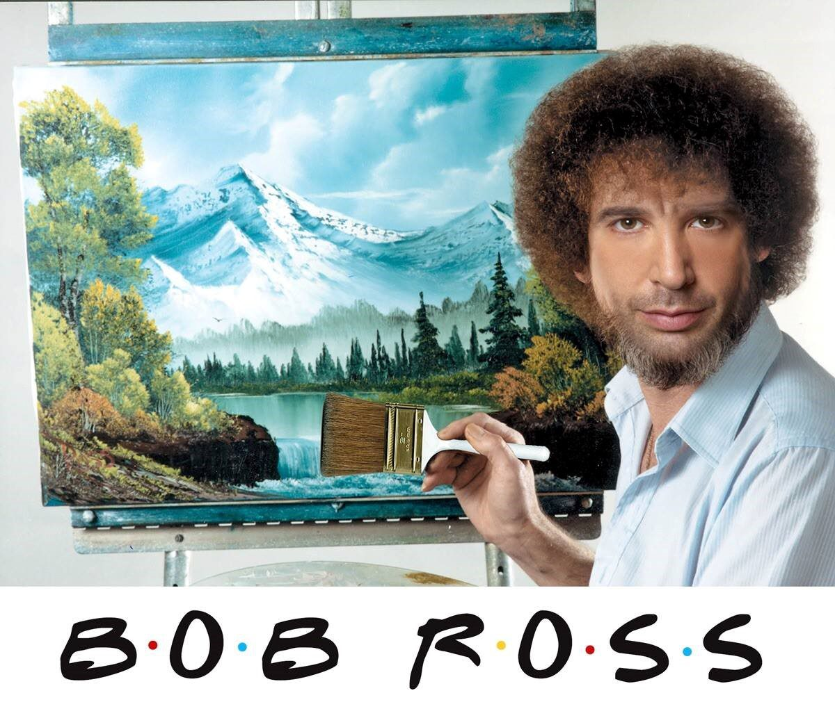 Friends Bob Ross