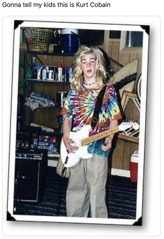Gonna Tell My Kids This Is Kurt Cobain