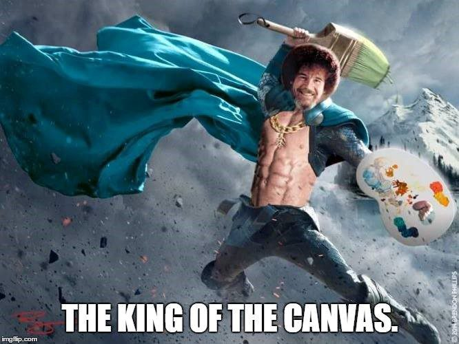 King Of The Canvas