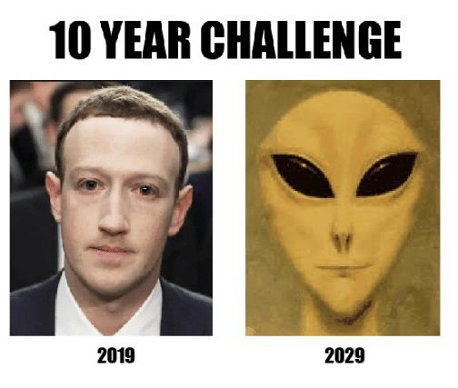 Mark Zuckerberg 10 Year Challenge