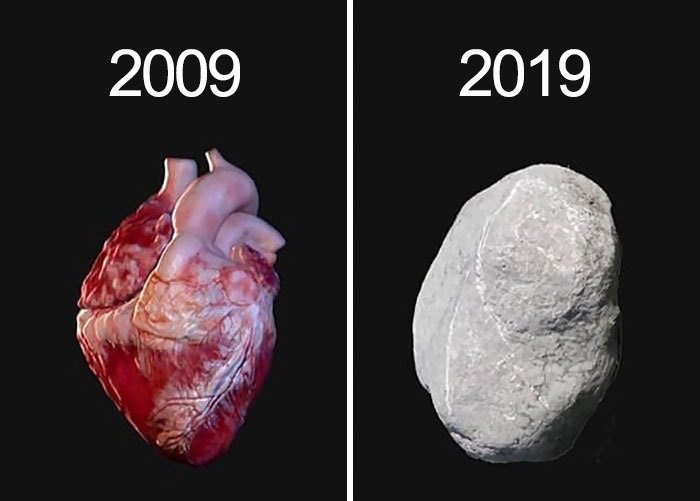 My Heart 10 Year Challenge