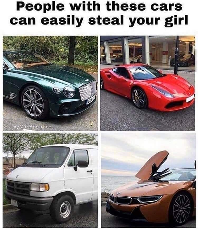 People With These Cars Can Easily Steal Your Girl