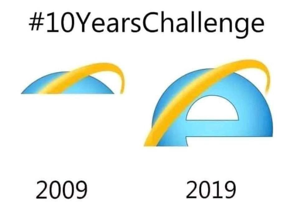 Still Loading 10 Year Challenge Meme