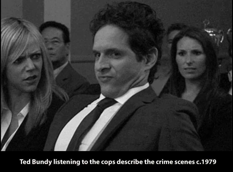 Ted Bundy Listening To The Cops