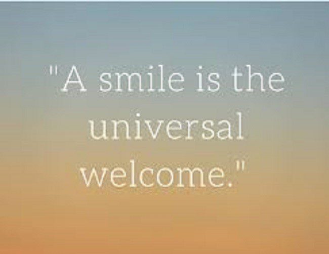 The Universal Welcome