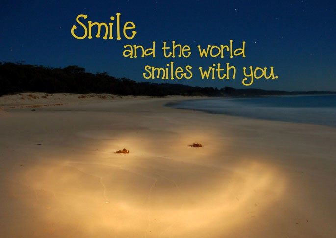 The World Smiles With You 2