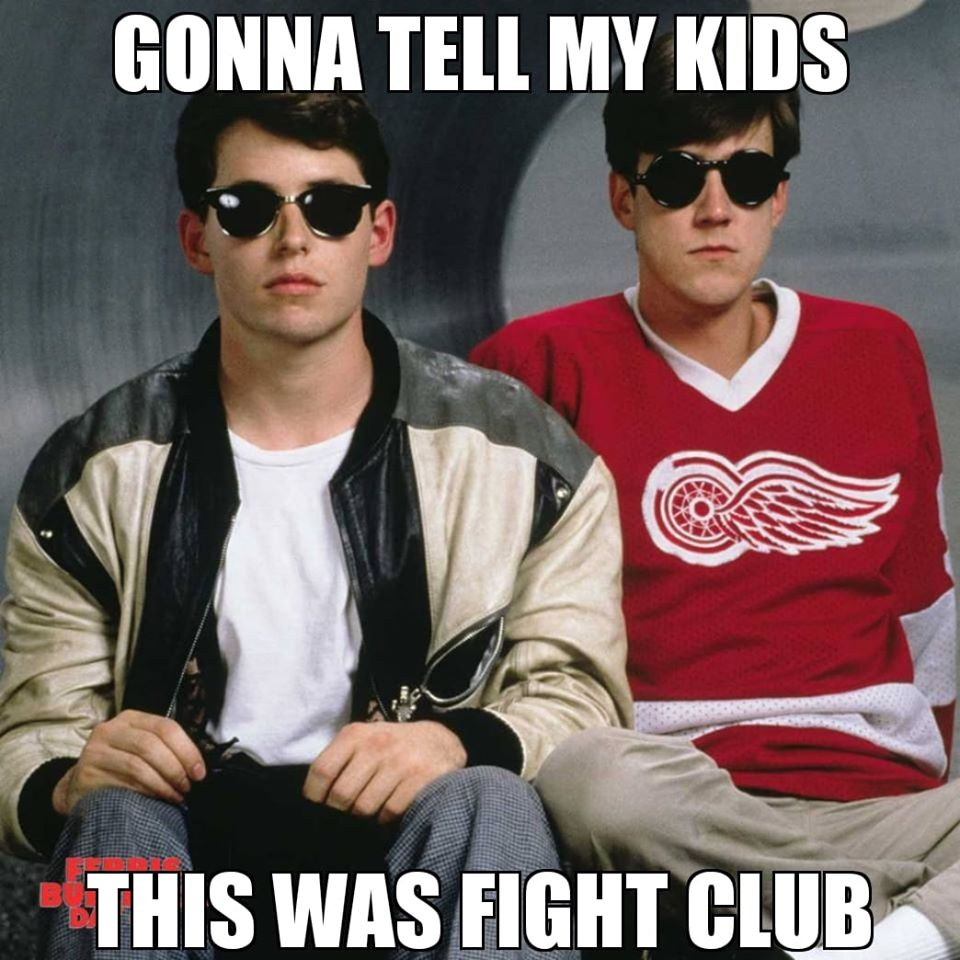 This Was Fight Club