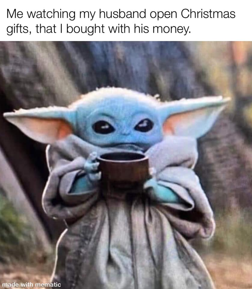 Watching My Husband Open Gifts I Bought With His Money