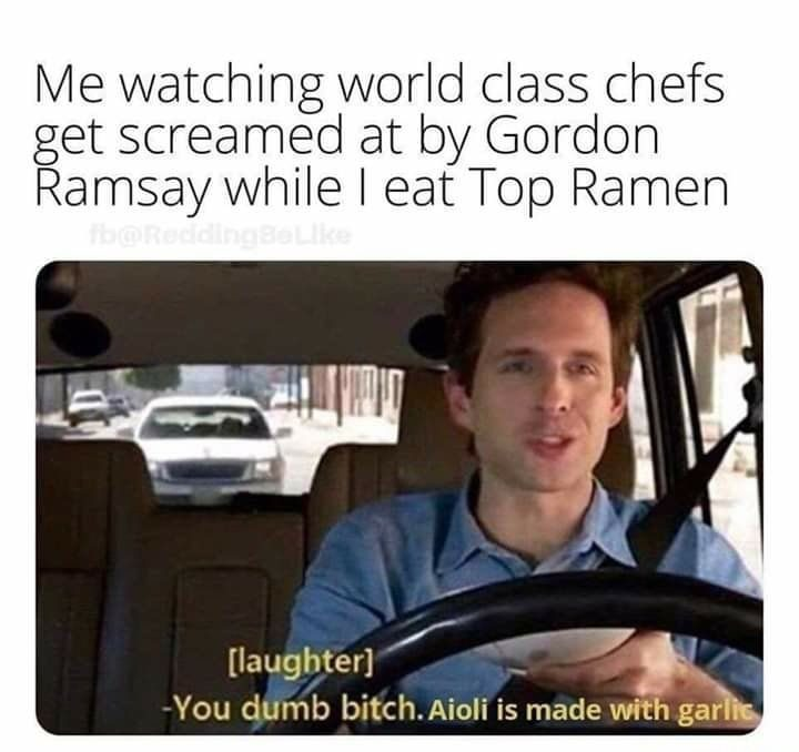 Watching World Class Chefs