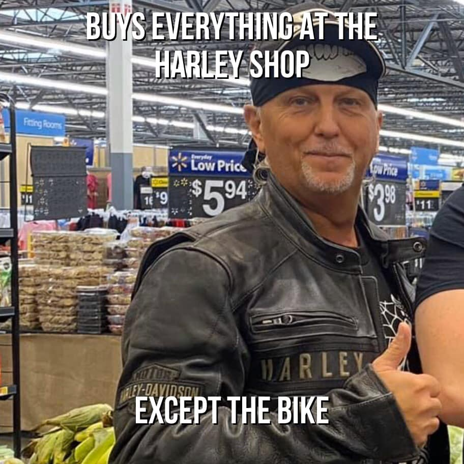 Buys Everything Except The Bike