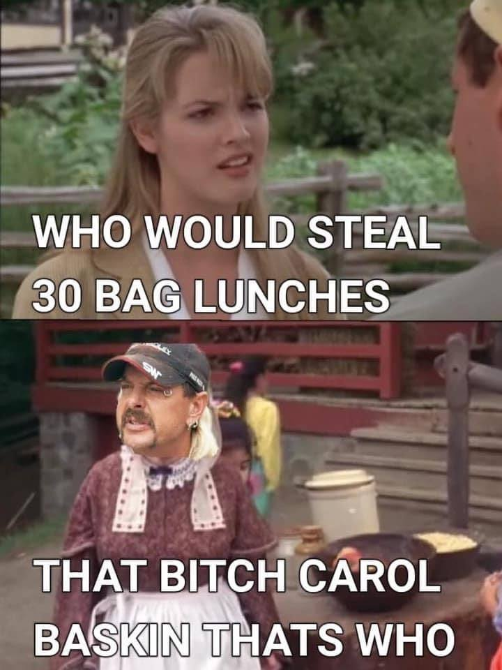 Who Would Steal 30 Bag Lunches
