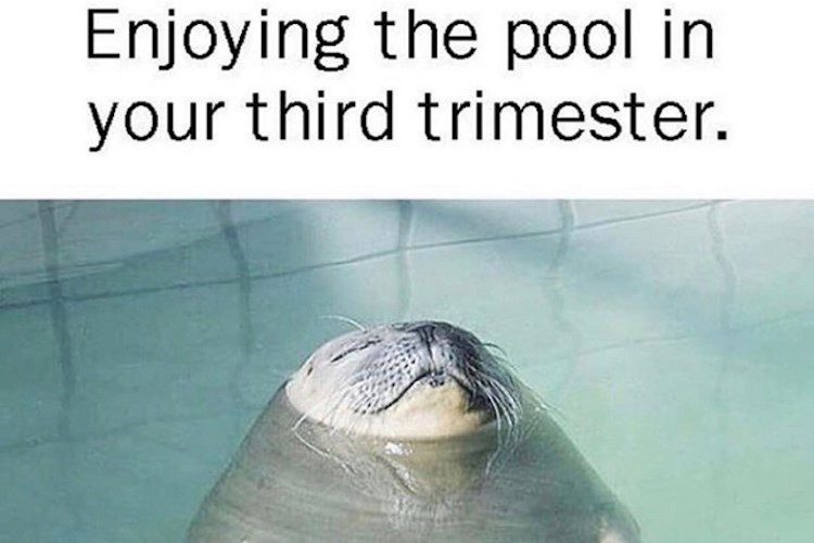 Enjoying The Pool In Your Third Trimester