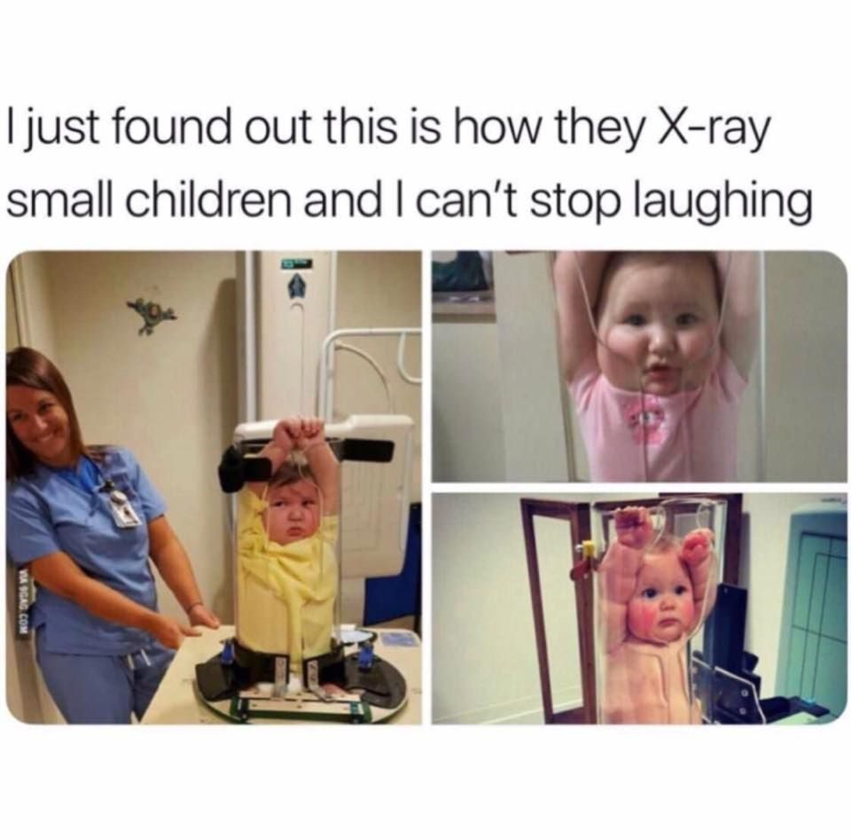 How They X Ray Small Children