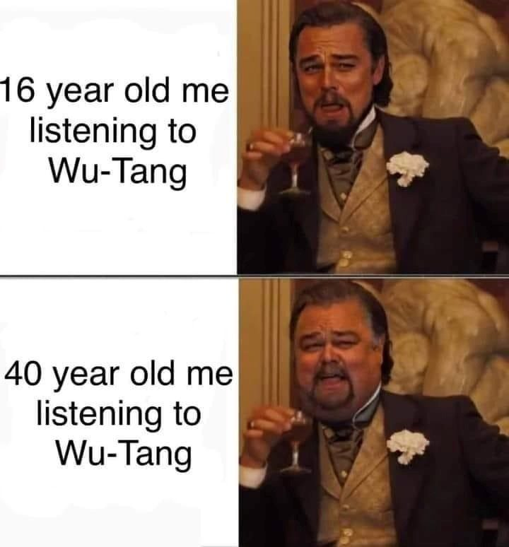 Listening To Wu Tang