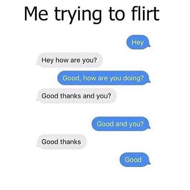 Trying To Flirt