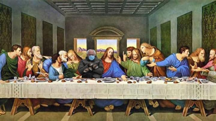 The Last Supper Bernie 2