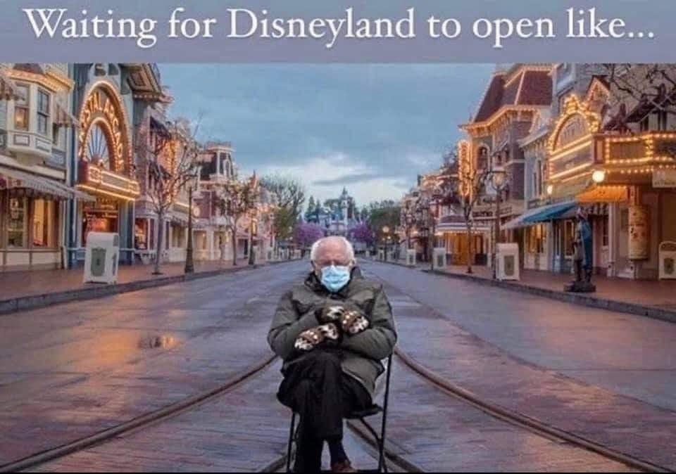 Waiting For Disney To Open 2