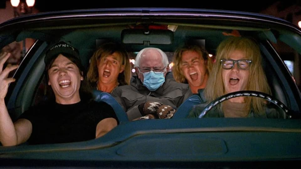 Waynes World Bernie 2